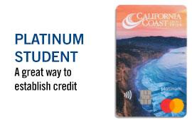 Platinum Student MasterCard